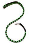 Hollandleine - komplett geflochten - Länge 1,20 m - schwarz-apfelgrün
