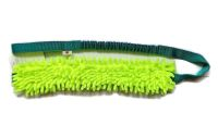Mopik long lime-grün ohne Quietschi mit ruckdämpfendem Bungeegriff von Dogscraft - Länge Moppteil ca. 40 cm - Länge insgesamt ca. 1,08 m
