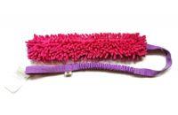 Mopik long pink-flieder ohne Quietschi mit ruckdämpfendem Bungeegriff von Dogscraft - Länge Moppteil ca. 40 cm - Länge insgesamt ca. 1,08 m