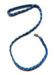 Hollandleine - teilgeflochten - Länge 1,20 m - Abyss-metall blue